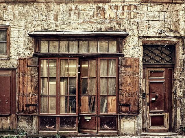 Les boutiques anciennes de Bordeaux