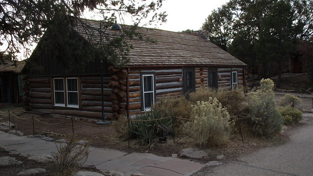 Arizona - Grand Canyon: The Buck O'Neil Cabin (built in 1890) is the oldest extant structure on the South Rim
