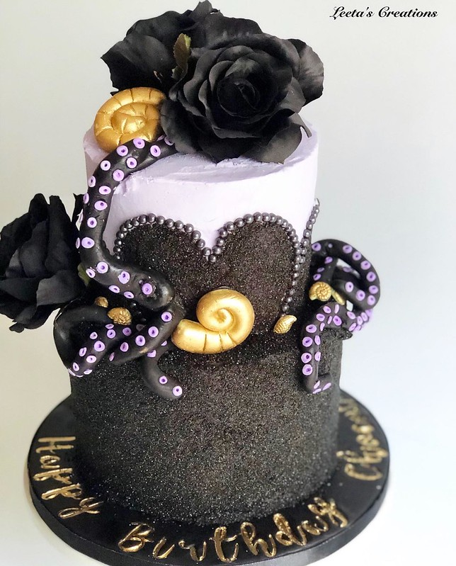 Cake by Leeta's Creations Custom Cakes