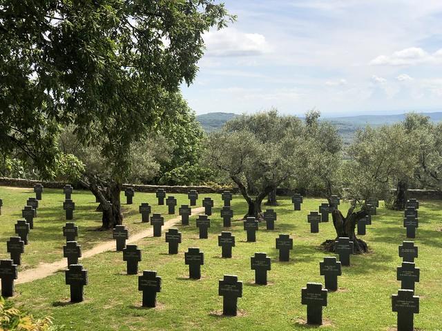 Cementerio Militar Alemán en Cuacos de Yuste (Cáceres)