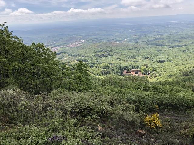 Mirador de la barrera de Yuste (Cáceres)