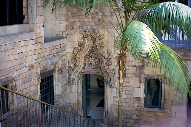 Museu Picasso - exit