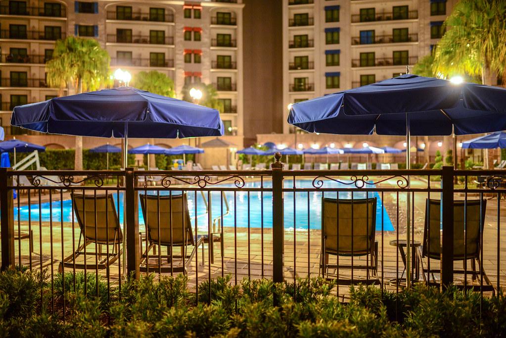 Riviera quiet pool