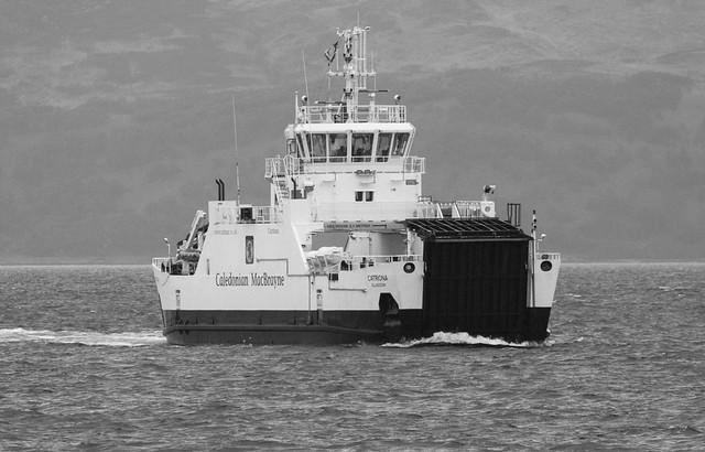Catriona in Kilbrannan Sound