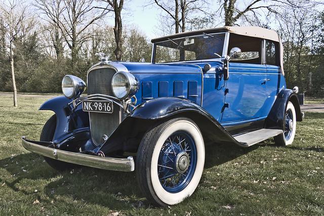 Chevrolet BA Confederate Convertible Cabriolet 1932 (2070)
