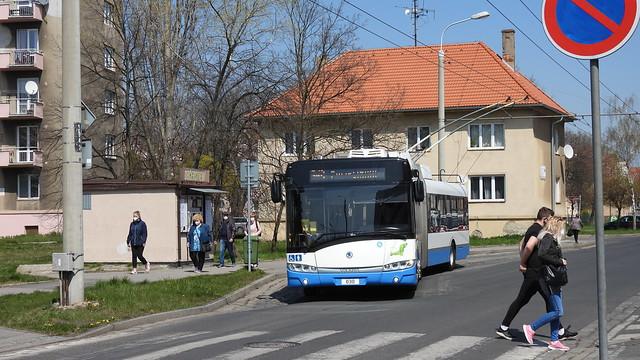 2021-04-28 Chomutov Trolleybus Nr.030