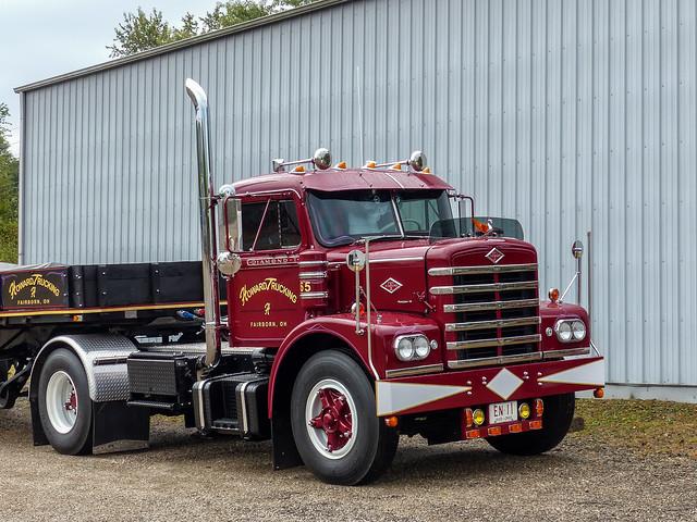Howard Trucking's Restored 1965 Diamond T Semi Tractor