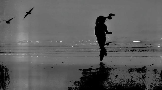 Libre sur la plage de tofino - Canada