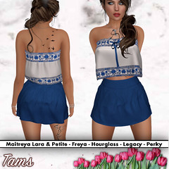 Free Flow Top and High Waisted Skirt - Cyn