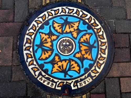 Mizumaki Fukuoka, manhole cover (福岡県水巻町のマンホール)