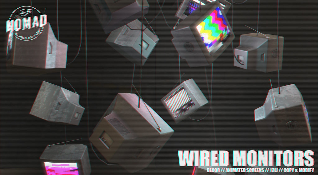 NOMAD // Wired Monitors
