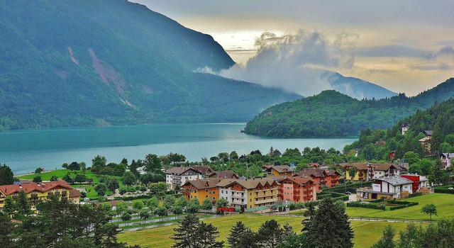 ITALIEN, Italy,  Rund um den Molveno See (TN) , 79023/13627