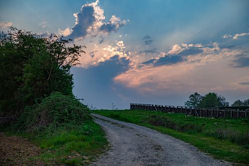 sunset countryside belgium sterrebeek pentaxk1markii hdpentaxdfa2470mmf28edsdmwr hdr lightroom
