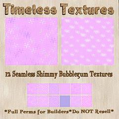 TT 12 Seamless Shimmy Bubblegum Timeless Textures