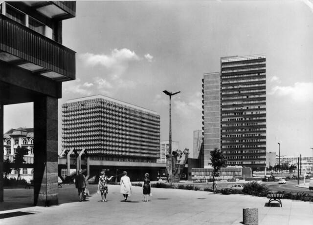 Halle (Saale), Thälmannplatz, 1975