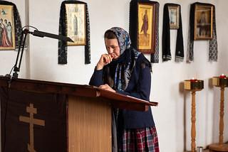 28.04.2021   Литургия Преждеосвященных Даров в дер. Большое Городно