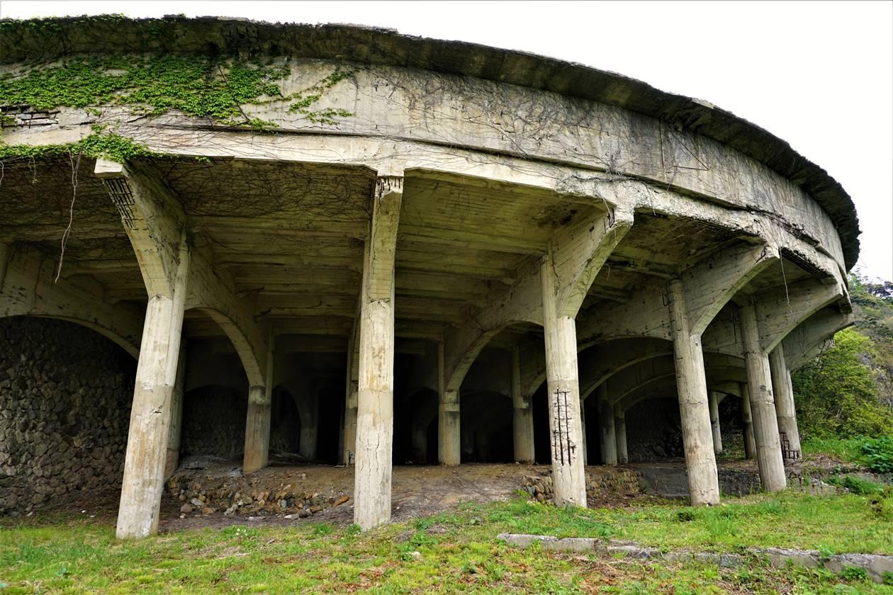 佐渡ヶ島の遺跡