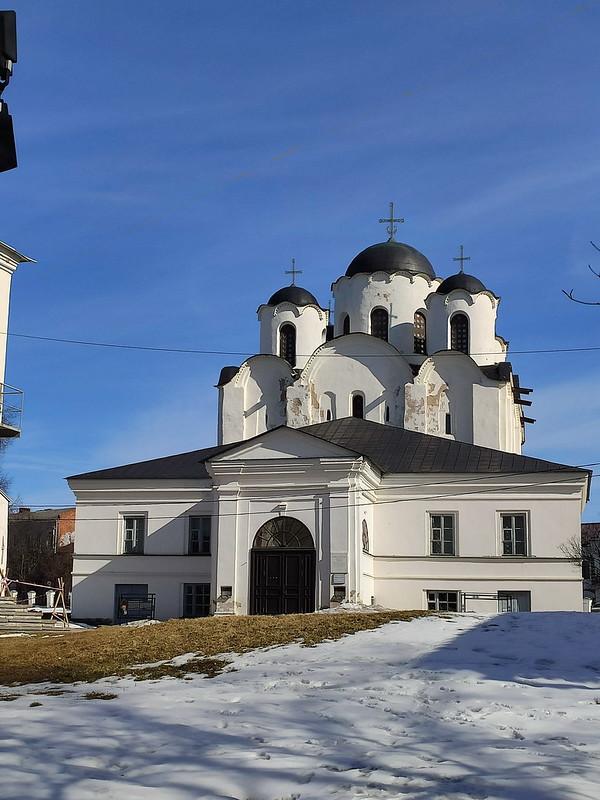 Великий Новгород - Николо-Дворищенский собор