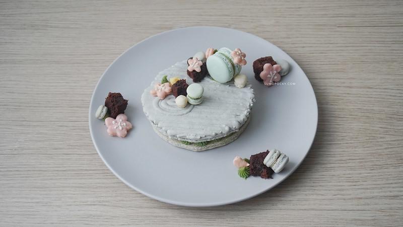 Japanese Zen Garden Dessert
