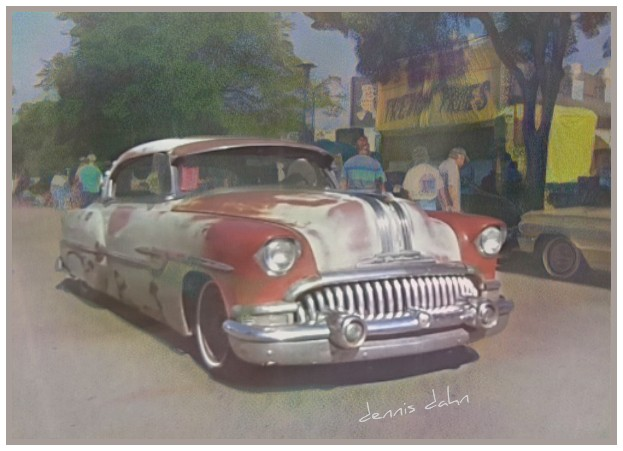 Pontiac with a Buick Grille