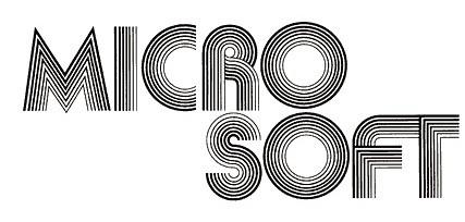 Logo Pertama Microsoft