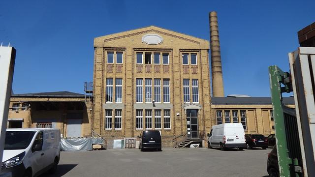 1917/18 Berlin Verwaltungsgebäude Adria-Konserven-/Dörrgemüsefabrik Julius Feher von Bruno Buch Kühnemannstraße 51-69 in 13409 Reinickendorf