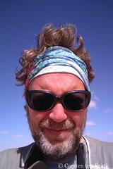 Self-portrait in the Western Sahara