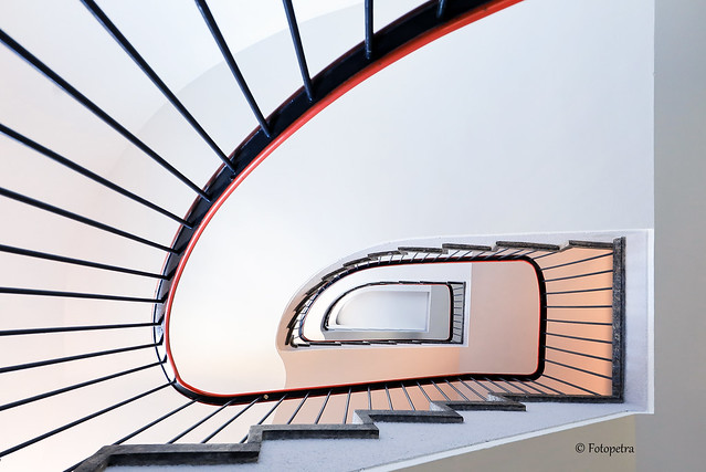 Stairwell from below