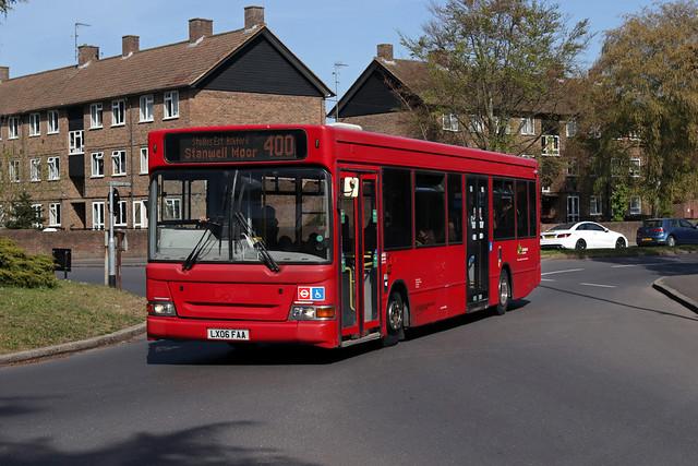 Route 400, Bear Buses, LDP279, LX06FAA