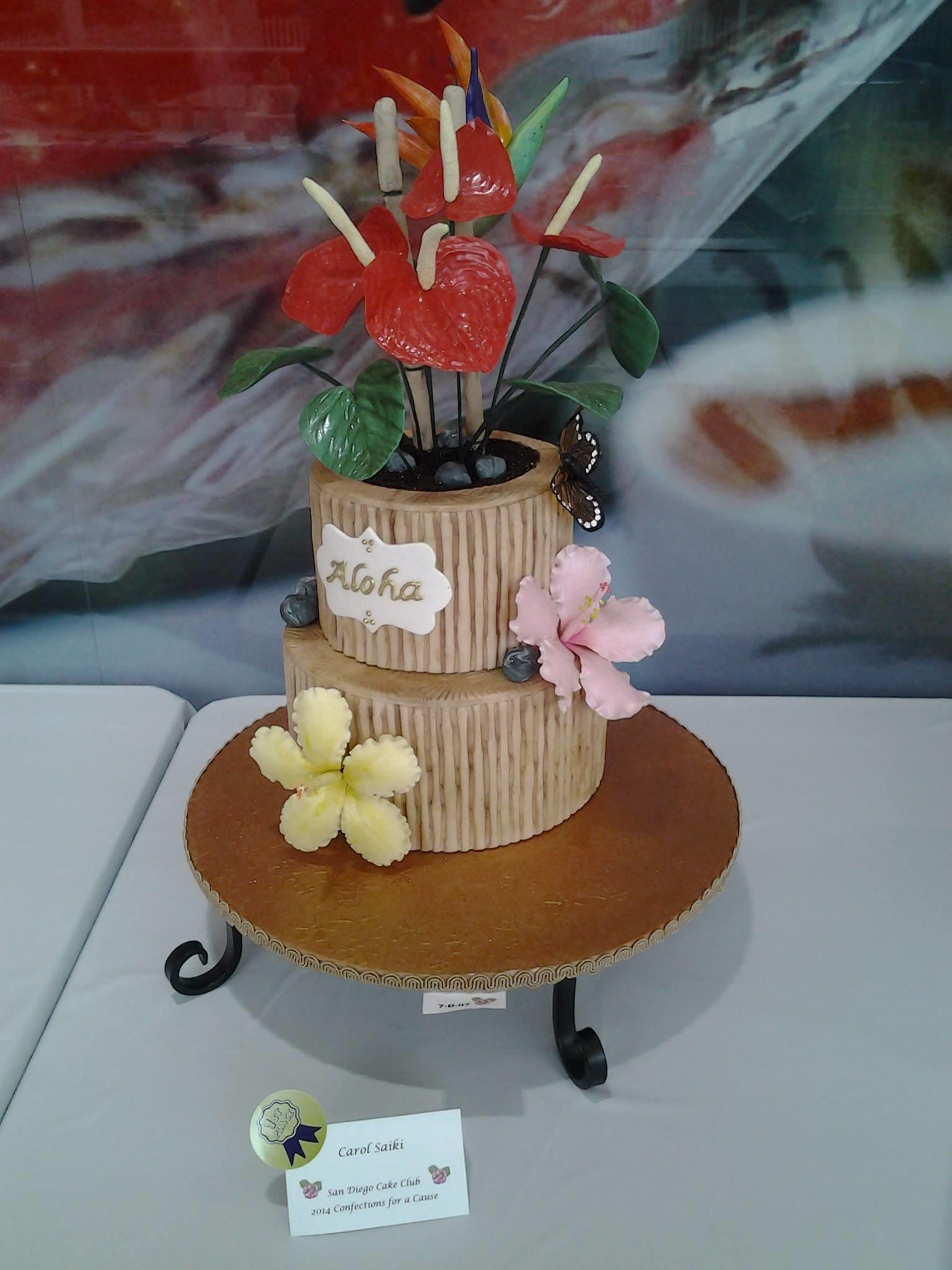 Cake by The Sugar Gallery, LLC