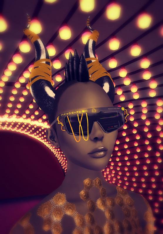 Helena Stringer - SL Syndicate - Prime Punk - Cyber Fashionista - Headshot
