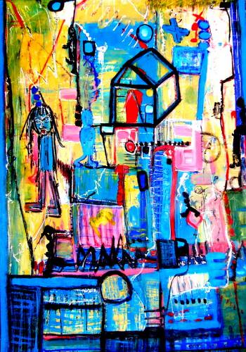 יוצרת אמנית עכשווית  שרה זלוטי היוצרת הישראלית האמנית העכשווית הציירת המודרנית