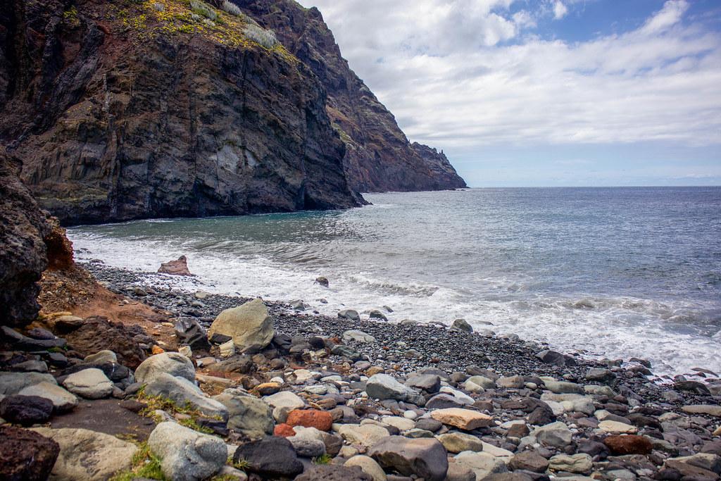 Playa de Tamadiste en Anaga