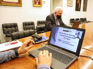 29/04/2021 - La Universidad de Deusto acoge la presentación del Plan de Ciencia, Tecnología e Innovación Euskadi 2030 (PCTI 2030)