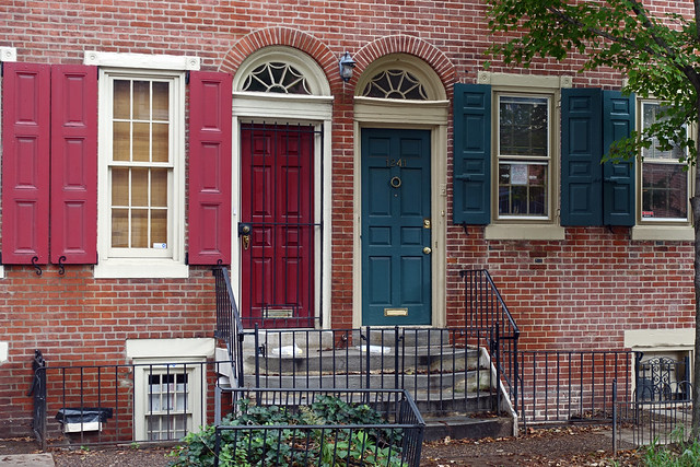 1239 & 1241 Lombard St in the Midtown Village of Philadelphia, PA