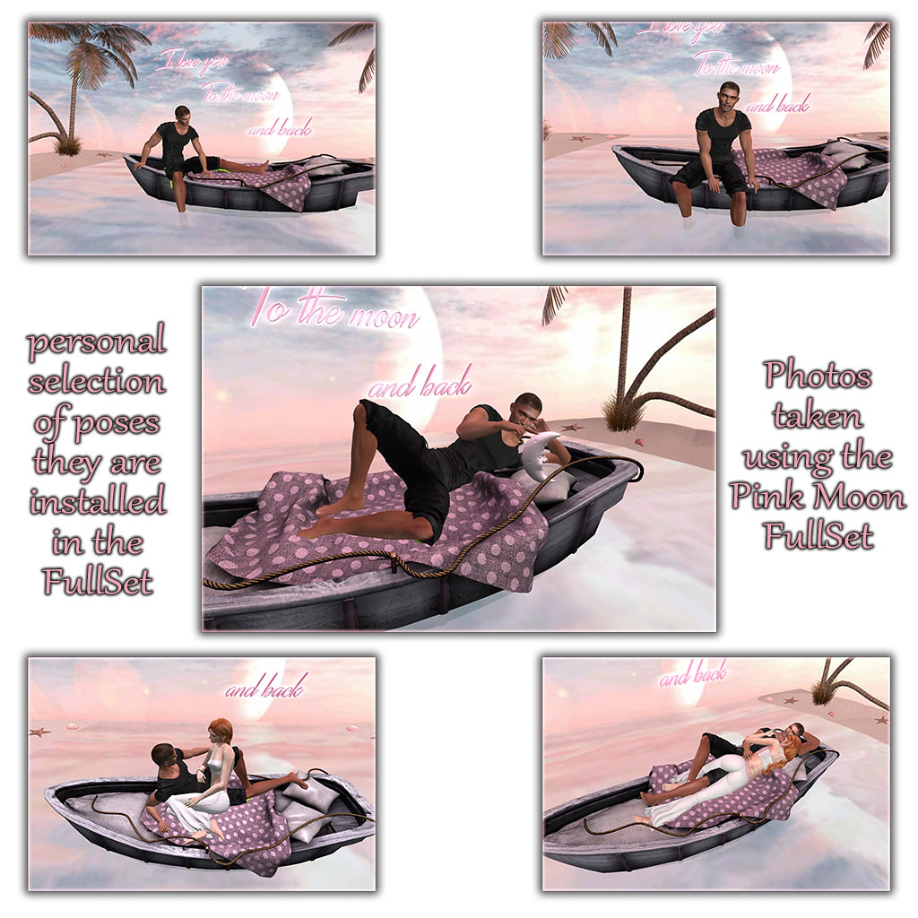 PINK MOON – some poses #1