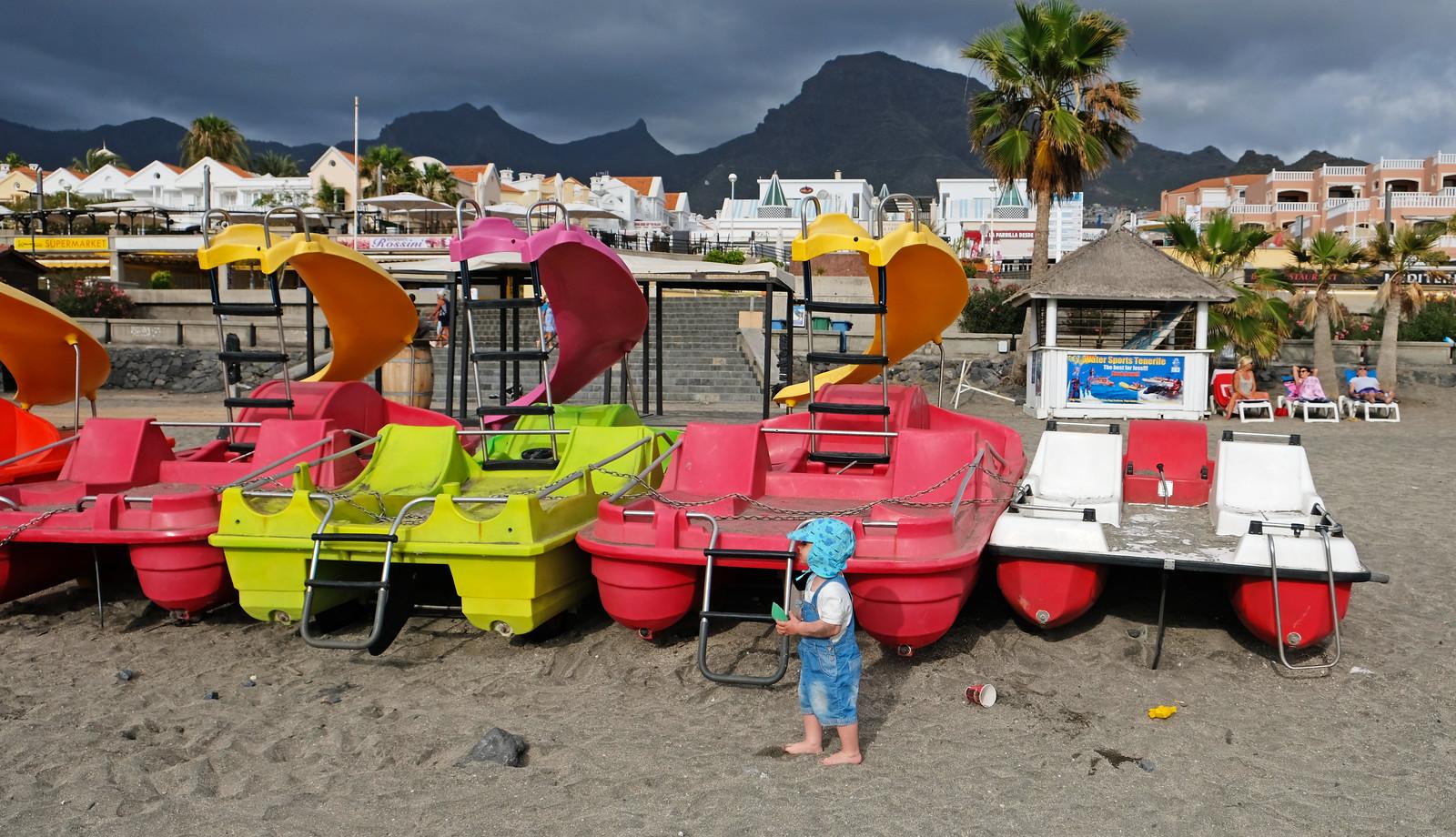 Fanabe Beach, Tenerife, Canary Islands, Spain