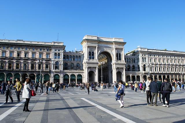 Main Square in Milan