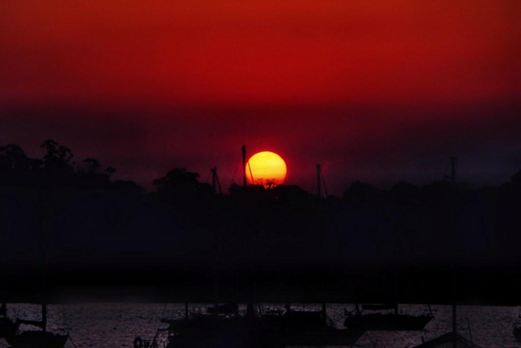 Sunset at Kogarah Bay
