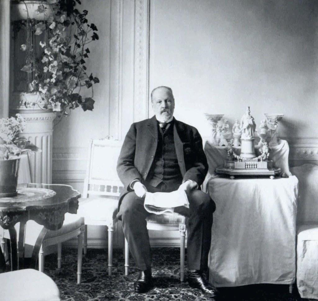 1905. Председатель Совета министров С.Ю.Витте