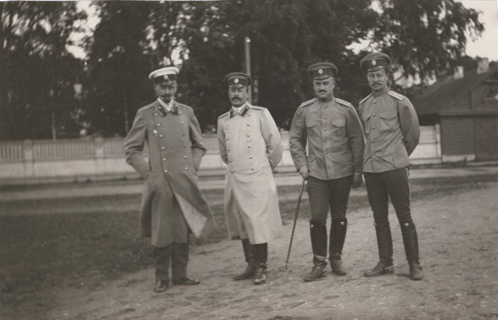 1909. Фредерикс, Маркозов, Смецкой, Греве