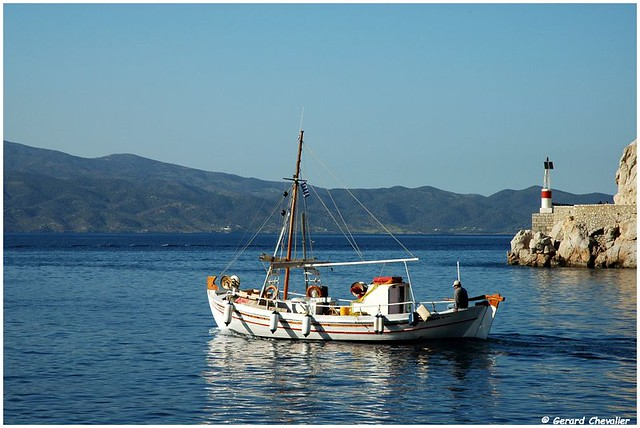 Caïque grec - Hydra  (In Explore 29/04)