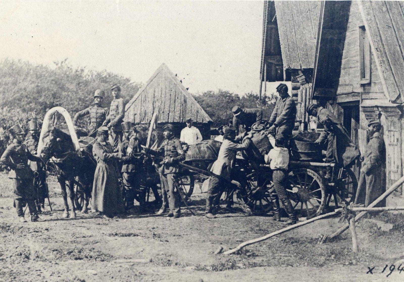 1860. Лейб-гусары в Царском Селе