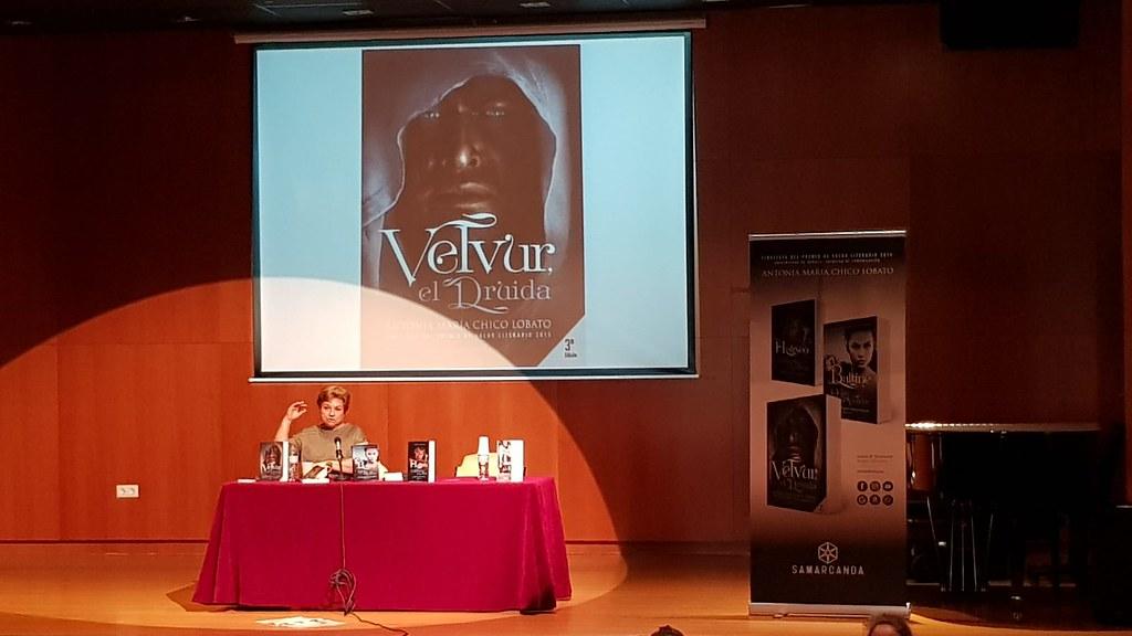 Encuentro con la autora Antonia Chico