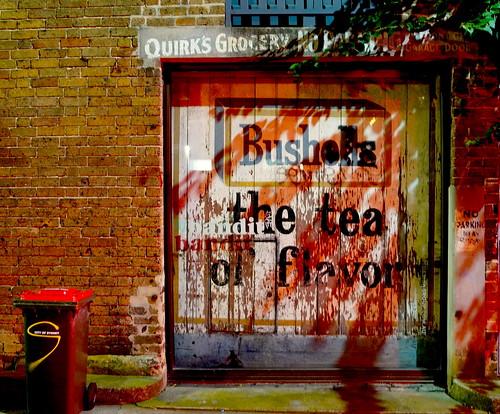 Bushells Tea door