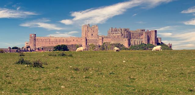 Angleterre - Bamburgh Castle
