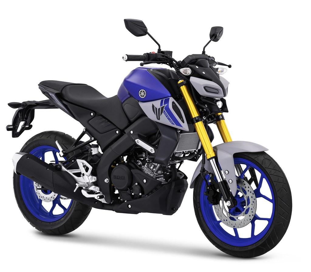 MT-15 Metallic Blue