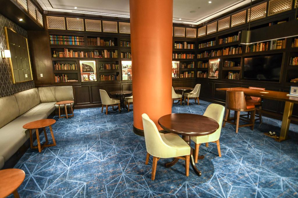 Riviera library study