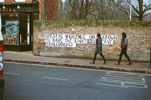 Domestic Violence, Stoke Newington Church Street