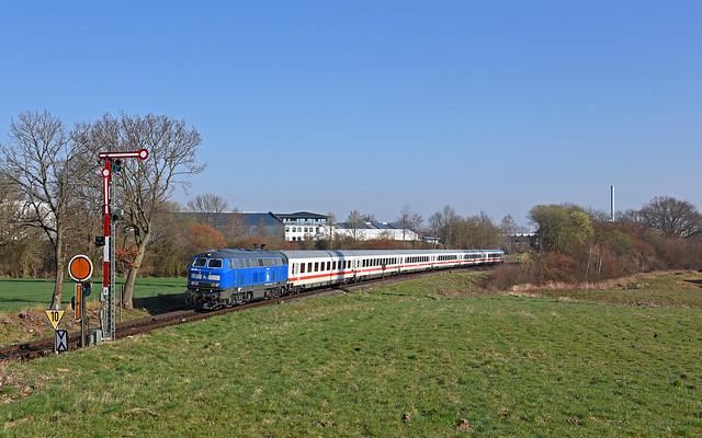 DB PRESS 218 054-3 - Neustadt in Holstein